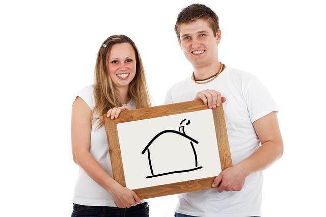 bydlení mladého páru