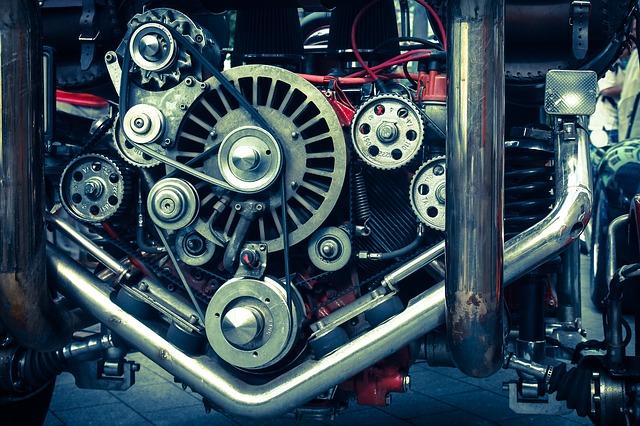 motor stroje