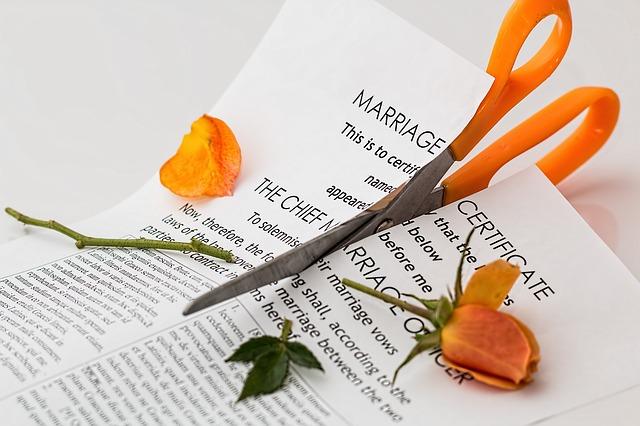 konec manželství