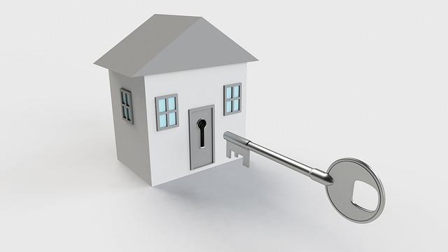 malý bílý domek, velký klíč