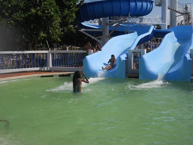klouzačka do vody